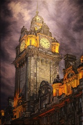 Edinburgh Clock Tower 29 r